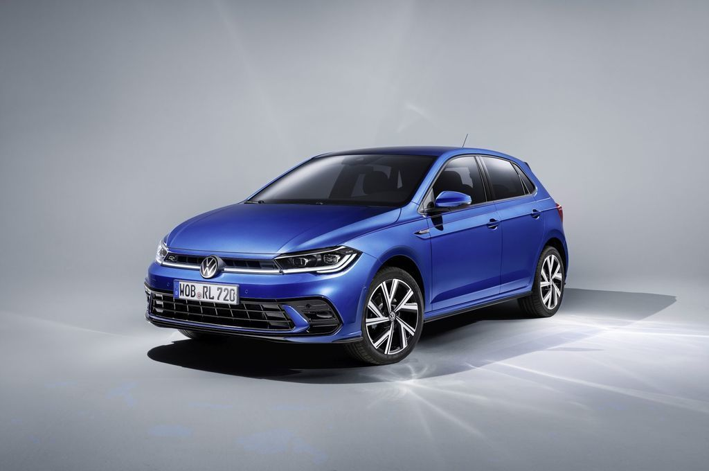 VW polo 2021 facelift
