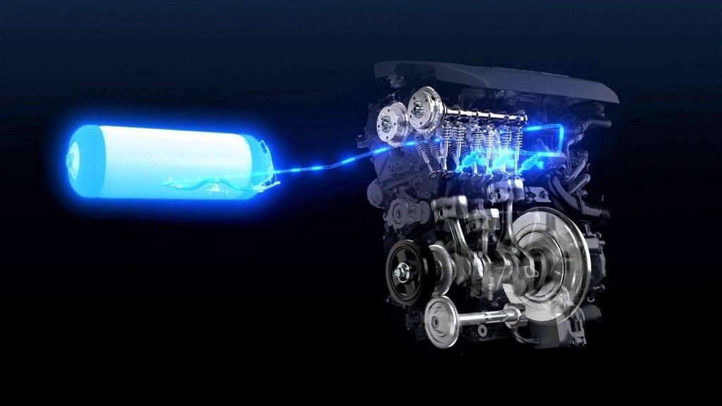 Toyota spaľovací motor na vodík