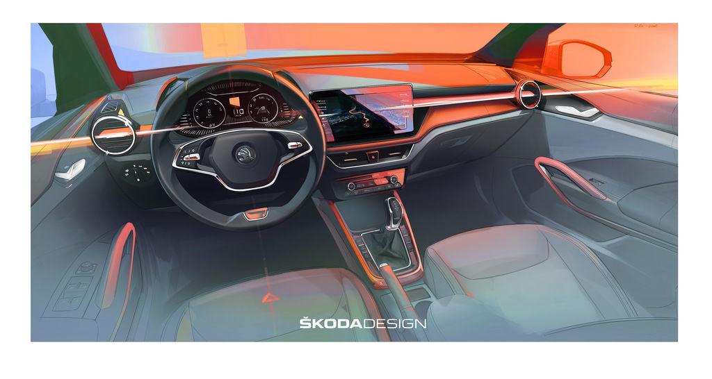 Škoda Fabia 2021 interior