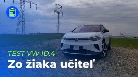 VIDEOTEST Volkswagen ID.4 77 kWh: Zo žiaka učiteľ