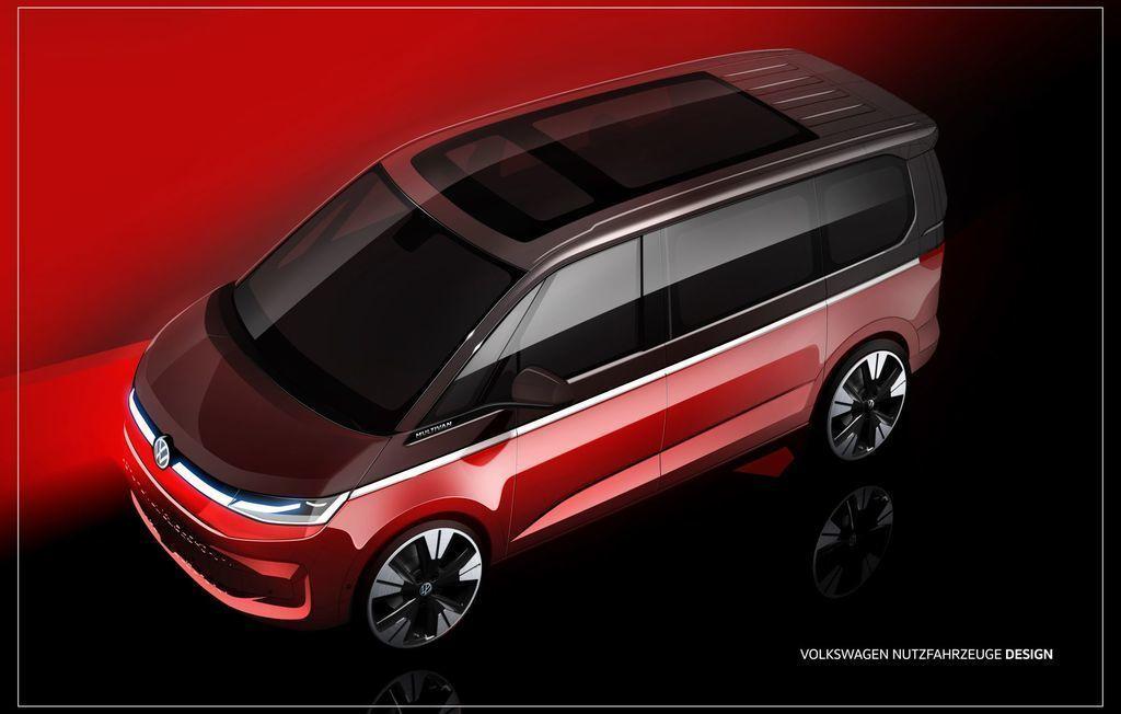 VW Mutlivan T7 dizajn
