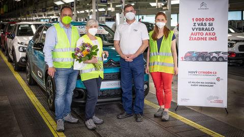 Miliónty Citroën C3 z Trnavy