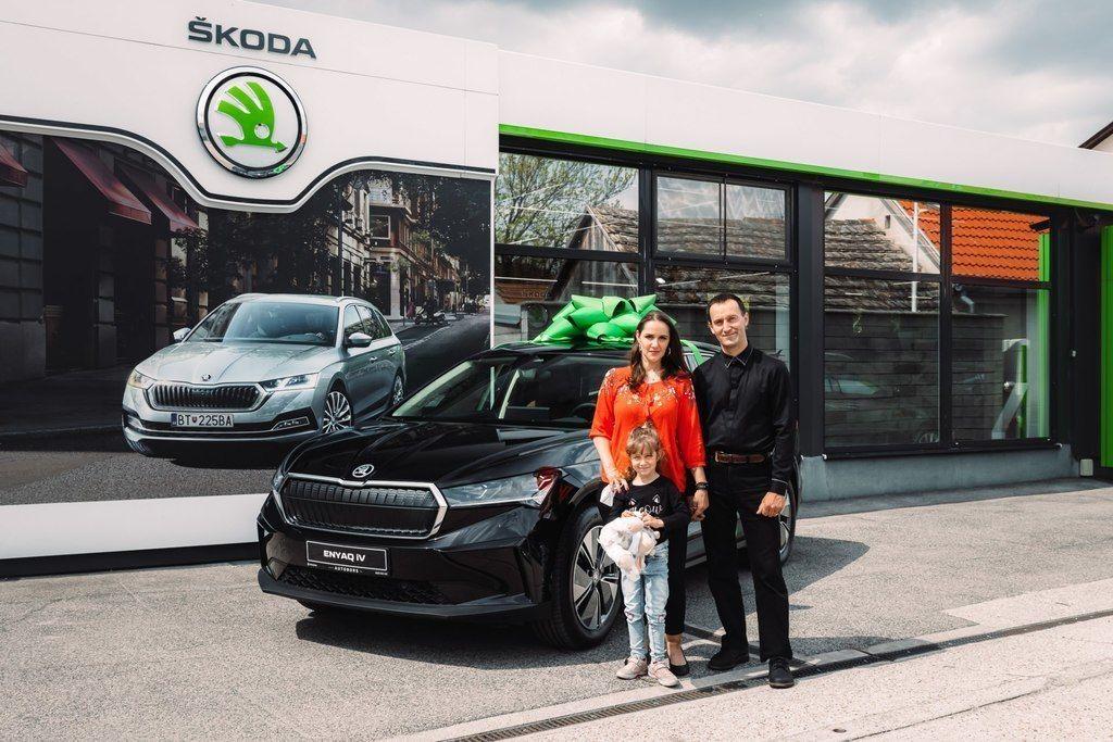 Skoda Enyaq iV prvy slovensky zakaznik