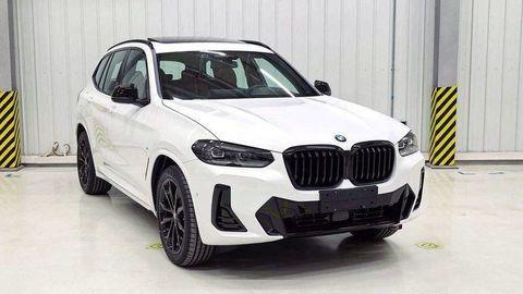Faceliftované BMW X3 2021 ukázali zábery z Číny