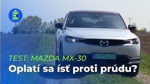 VIDEOTEST Mazda MX-30: Oplatí sa ísť proti prúdu?