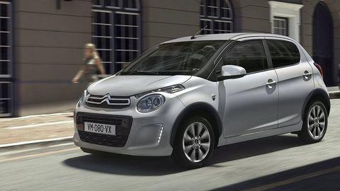 Citroënzušľachtil miniauto C1