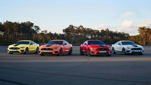 Prvé kusy top Mustangu Mach 1 už mieria do Európy!