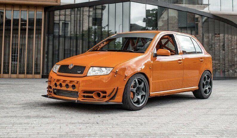 Škoda Fabia RS okruh