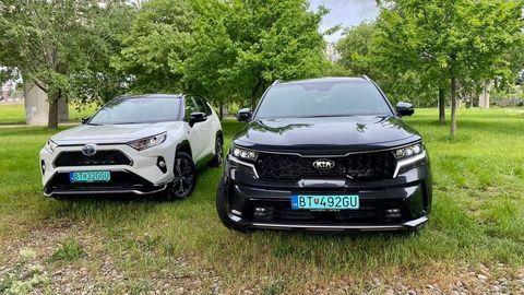 VIDEOTEST Kia Sorento PHEV vs Toyota RAV4 PHEV: Za rovnakú cenu viac auta vs lepší plug-in hybridný pohon