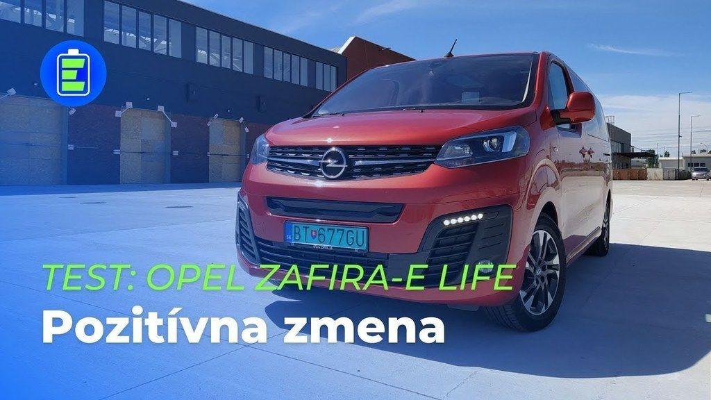 Opel zafira elektromobil test