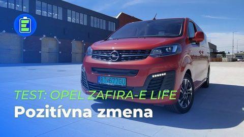 VIDEOTEST Opel Zafira-e Life 75kWh 2021: Prvý podrobný a technicky zameraný test