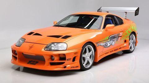 Toyota Supra z filmu Rýchlo a zbesilo zmení majiteľa. Dražiť ju budú v Las Vegas