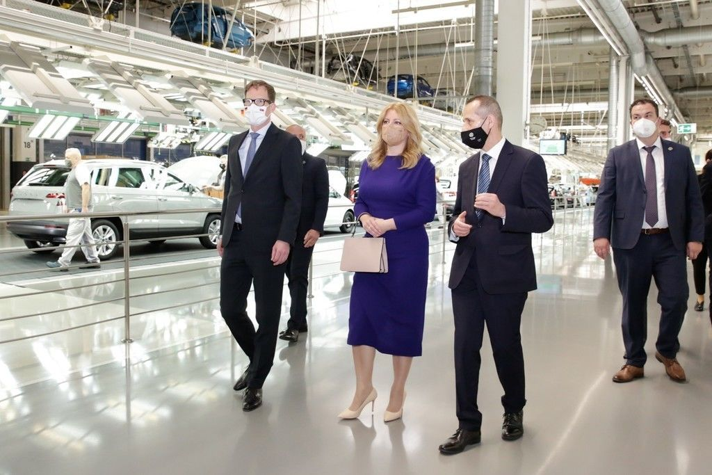 Prezidentka SR Volkswagen Bratislava