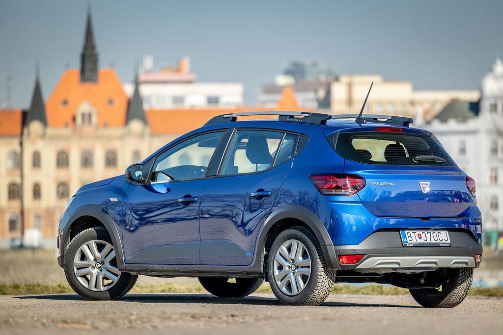 Dacia Sandero 2021 test