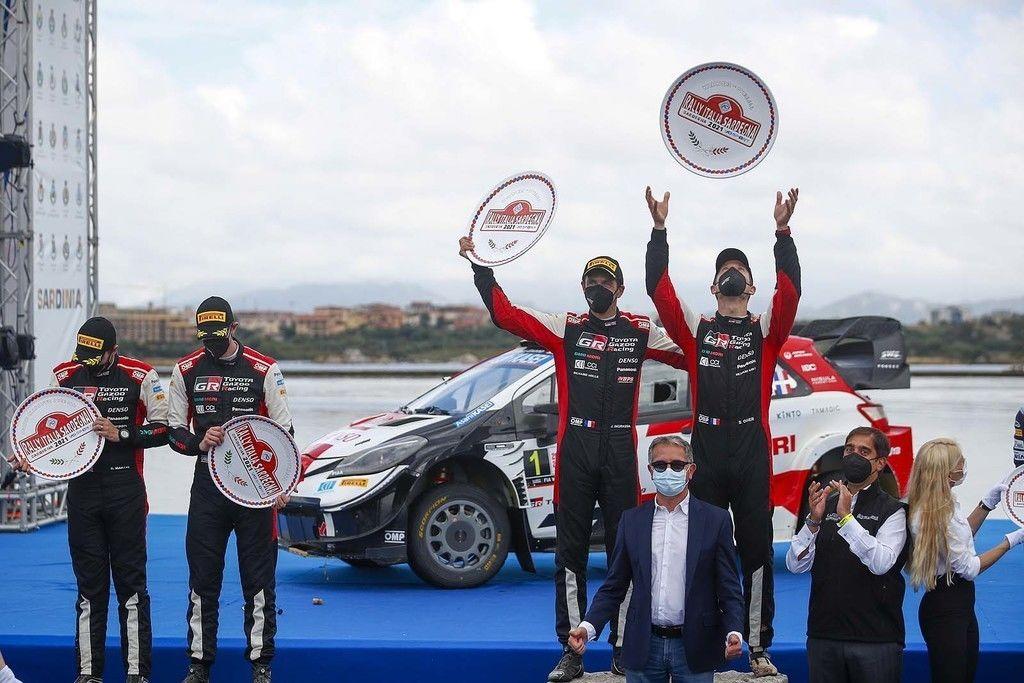 Double pre Toyotu, Ogier štvrtýkrát vyhral na Sardínii