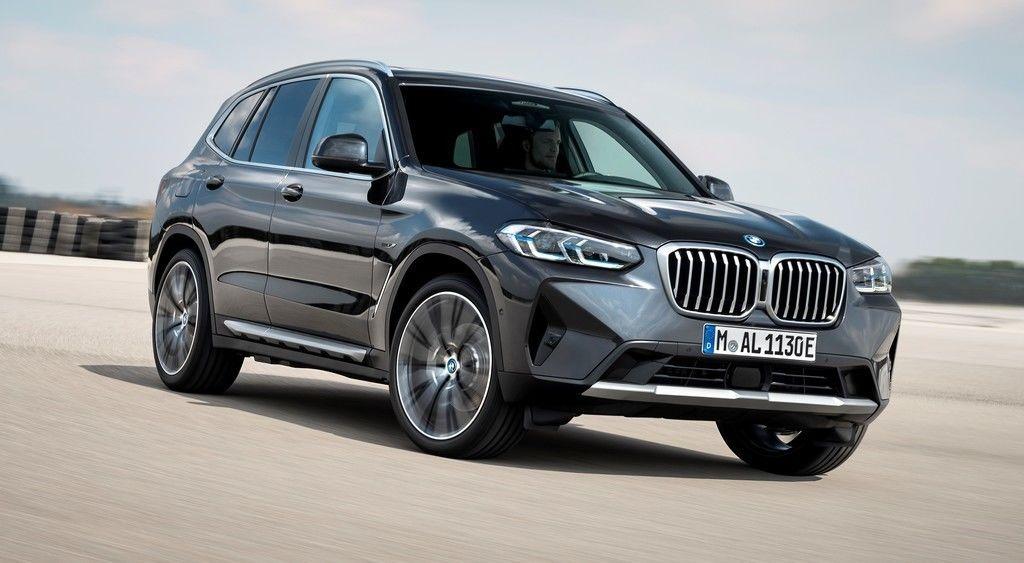 BMW X3 a X4 facelift 2021