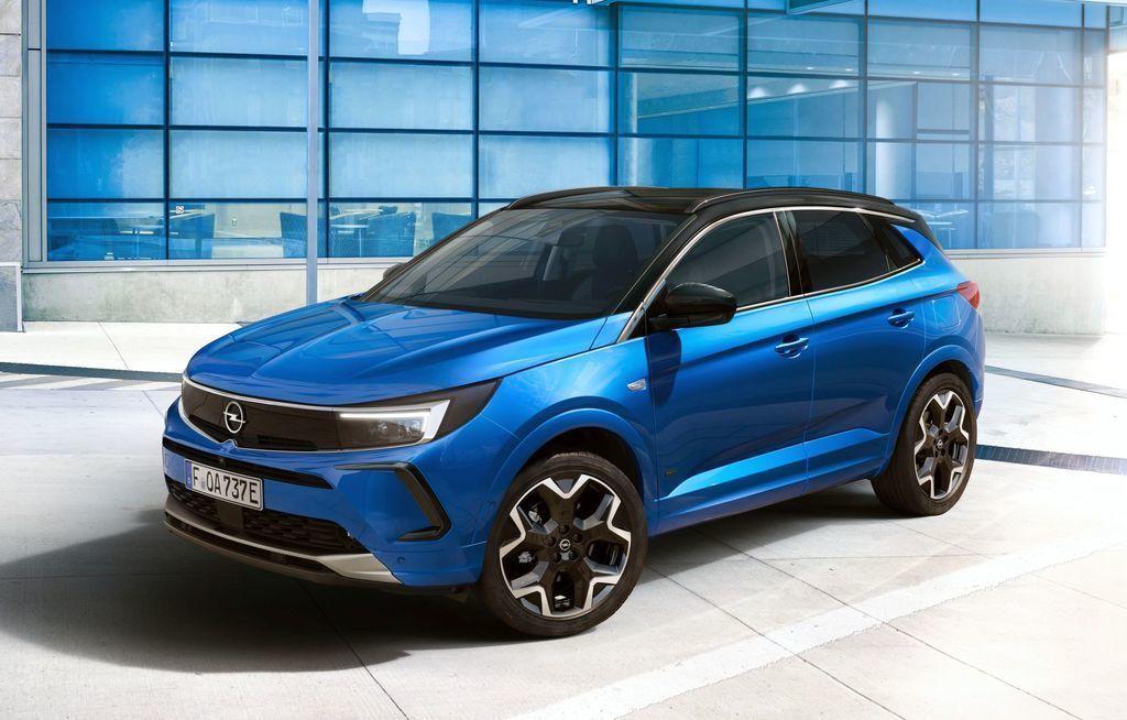 Opel Grandland 2021 facelift