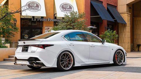Nový Lexus IS od Artisan Spirits v japonskom štýle