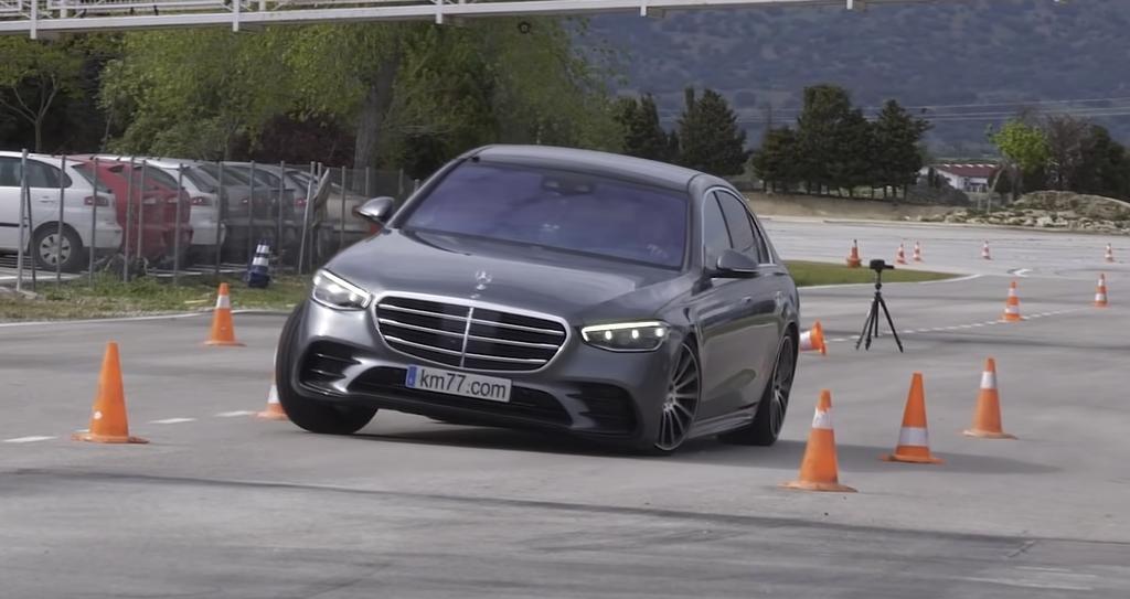 Mercedes-Benz Triedy S 2021 losí test