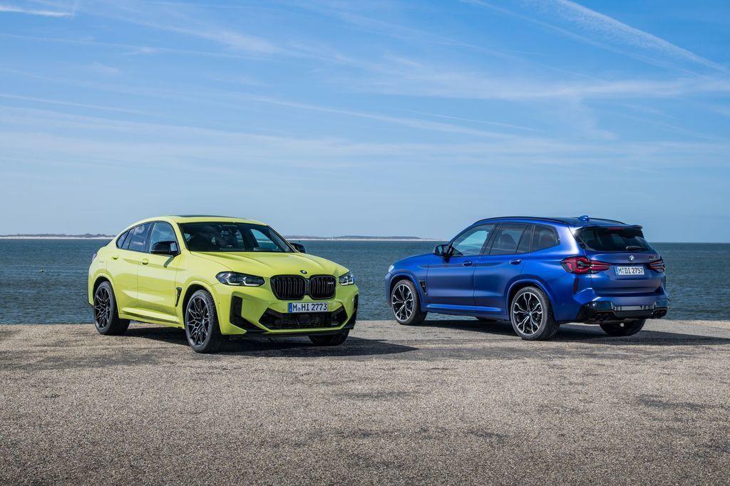 BMW X3 a X4 M 2021