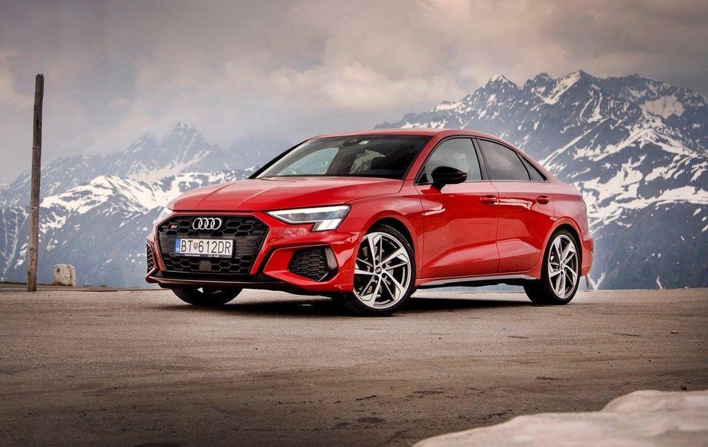 Audi S3 videotest 2021