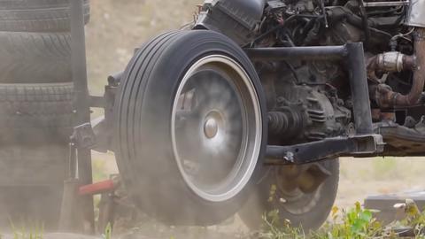Rusi roztočili koleso na rýchlosť 1332 km/h! Takto to dopadlo... (VIDEO)