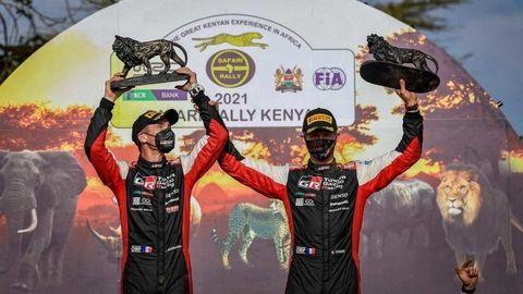 Safari Rally vyhral Sébastien Ogier, Toyota predtým v Keni vyhrala v roku 1995