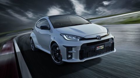 Toyota GR Yaris Morizo Selection: Hot hatch Akio Toyodu s farebnými pružinami