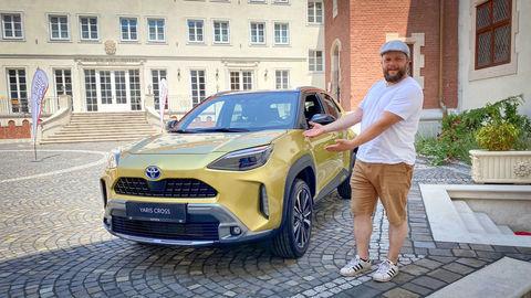 Toyota Yaris Cross Hybrid 4x4: Prvý dotyk (VIDEO)