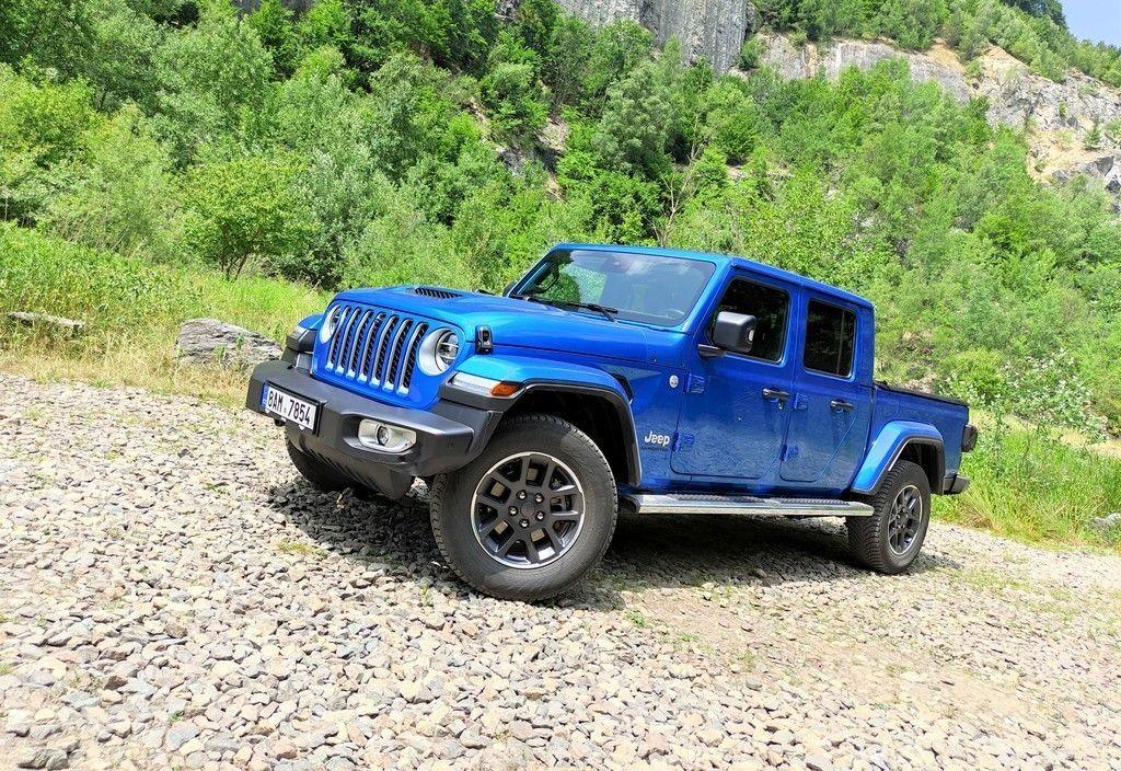 Jeep Gladiator test 2021