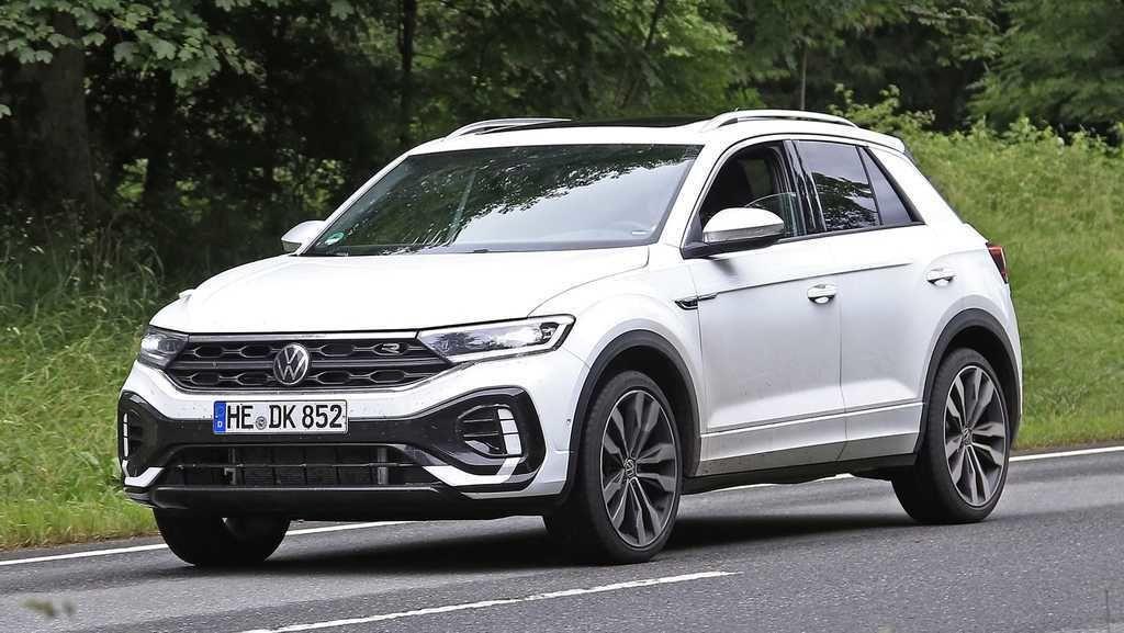 VW T-Roc facelift 2021