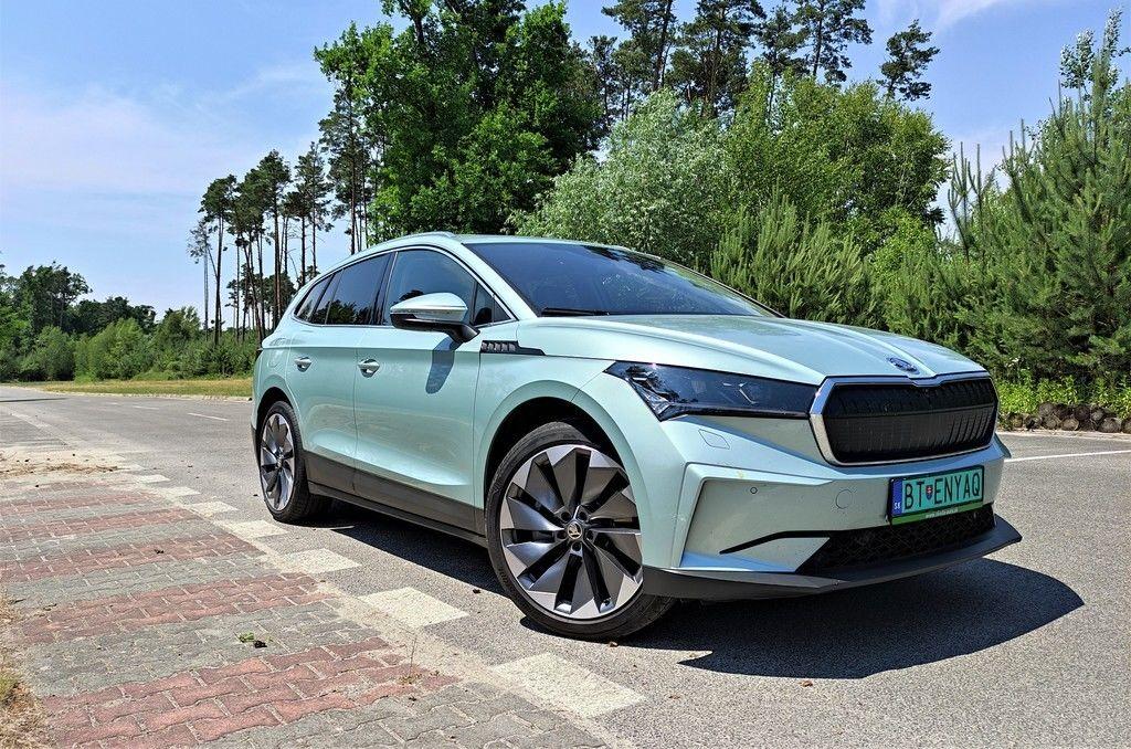 Škoda Enyaq test autozurnal