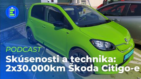 Rozhovor s majiteľom dvoch vozidiel Škoda Citigo-e iV po 30 000km a prehliadka podvozku (PODCAST)