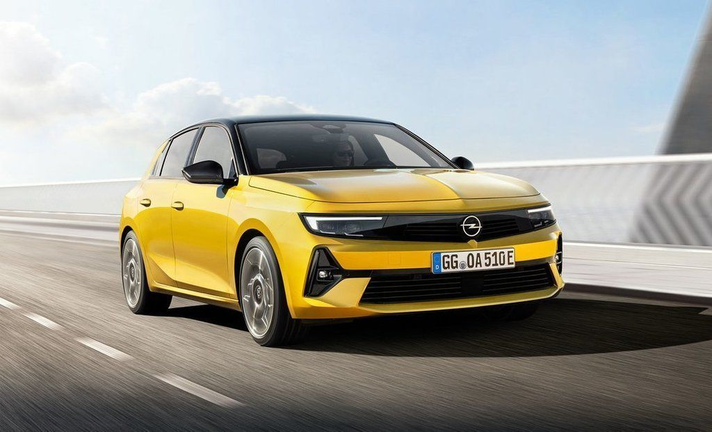 Nový Opel Astra 2022
