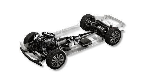 Mazda ukázala novú platformu s pohonom zadných kolies a radovým šesťvalcom