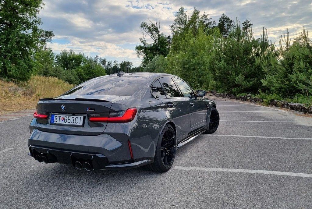 BMW M3 2021 test