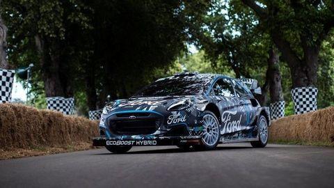 Hybridný Ford Puma Rally1 WRC v novej ére elektrifikovaných súťaží WRC