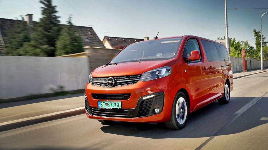 Opel Zafire E test autozurnal