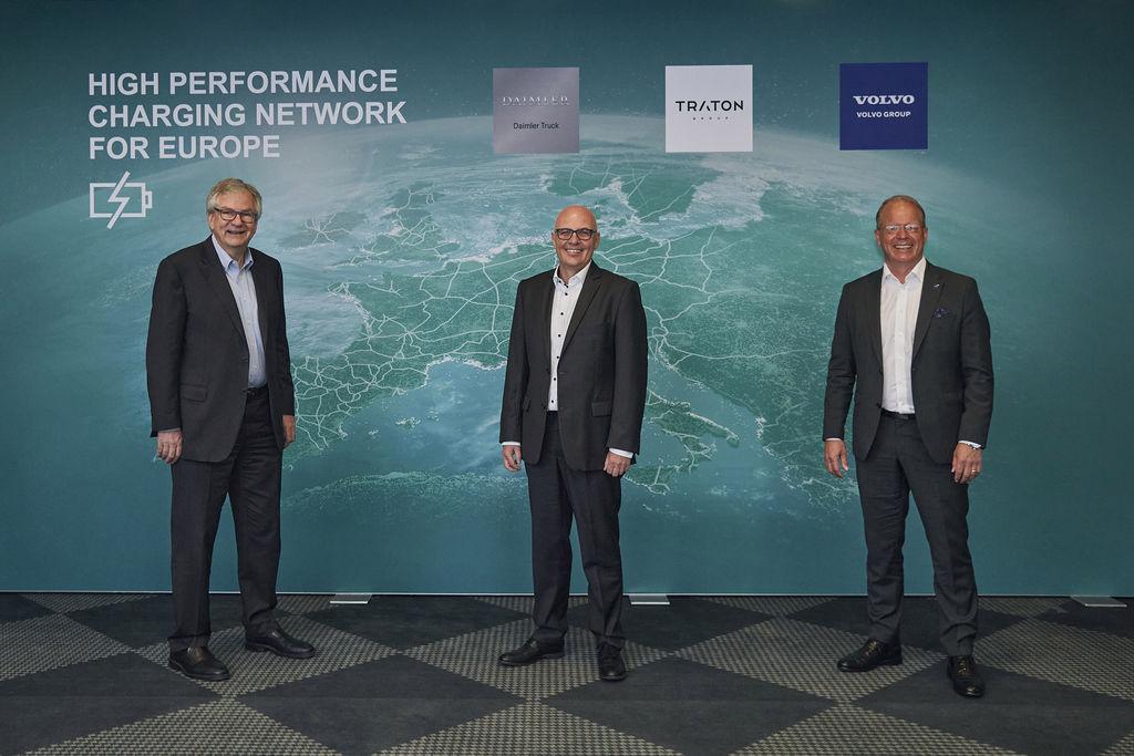 Projekt európskej nabíjacej siete pre trucky