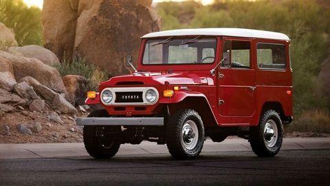 Toyota obnovuje výrobu dielov pre Land Cruiser 40 z rokov 1960 až 1984
