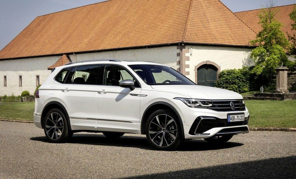 VW Tiguan Allspace 2021 facelift cennik