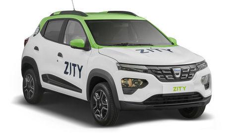 """Dacia Spring rozšírila parížsky """"car sharingový"""" park vozidiel Zity by Mobilize"""