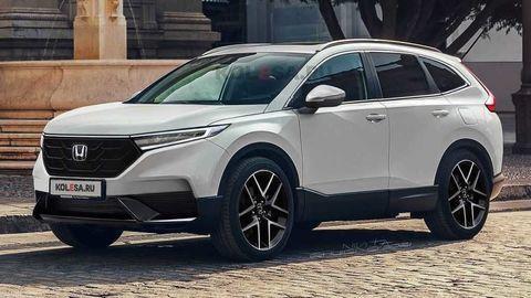 Nová Honda CR-V 2022 by mohla vyzerať takto. Toto o nej zatiaľ vieme