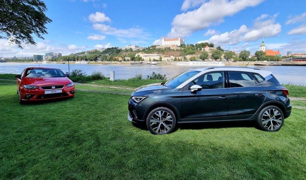 SEAT Ibiza a Arona facelift