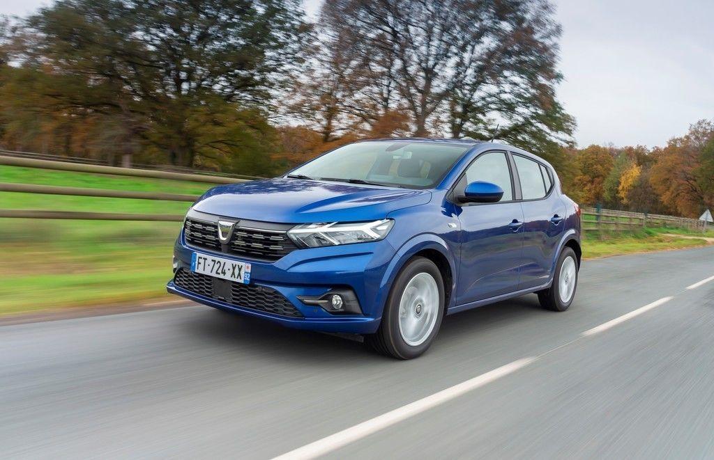 Dacia Sandero najpredavanejsie auto v Europe