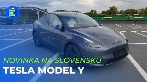 Tesla Model Y je na Slovensku! Toto sú prvé dojmy z horúcej novinky (VIDEO)