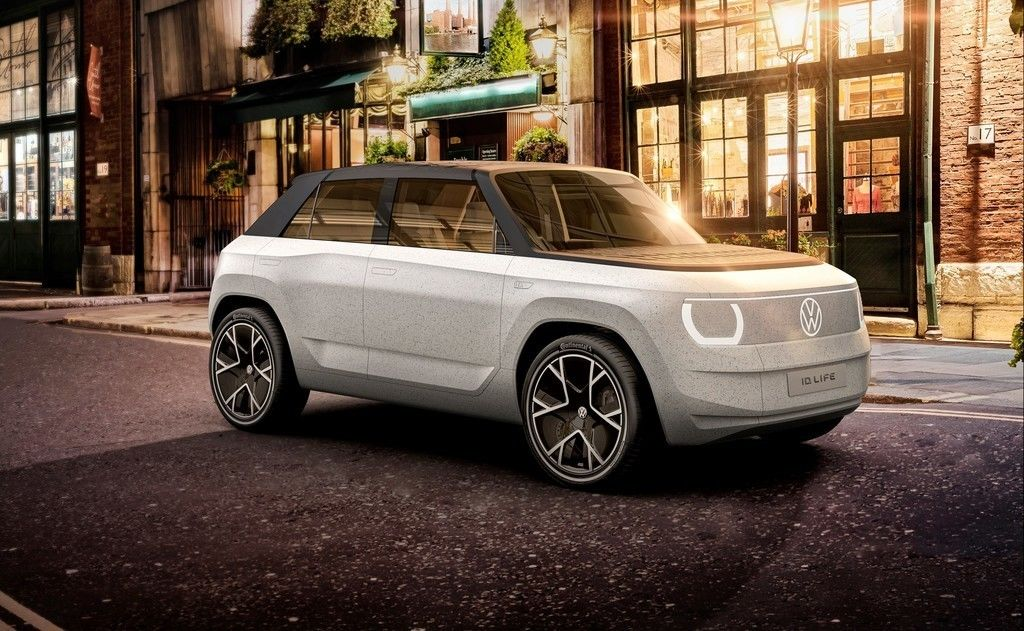VW ID. Life lacny elektromobil