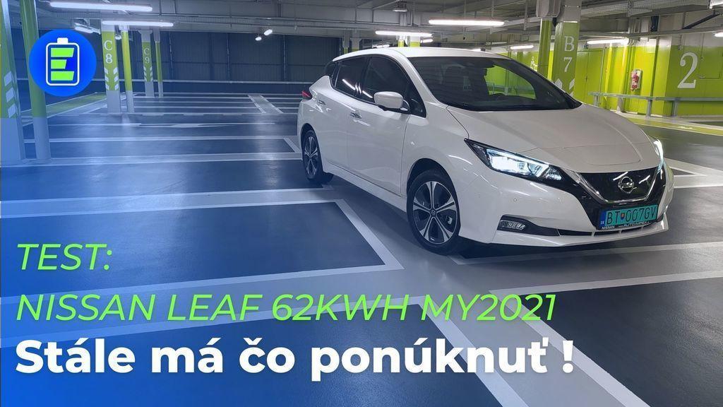 Nissan Leaf 2021 test