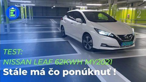 VIDEOTEST Nissan Leaf 62 kWh MY2021: Stále má čo ponúknuť!