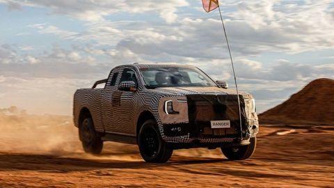 Nový Ford Ranger je vo finálnej fáze vývoja. Predstavia ho už onedlho